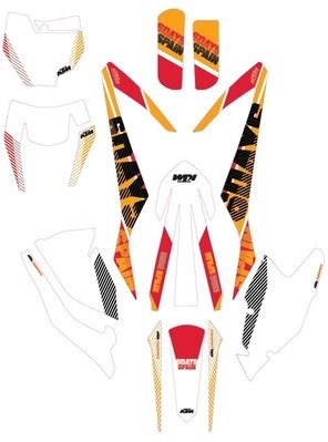 aomcmx  ktm  days graphic kit spain