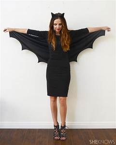 A DIY Bat Costume so Easy No One Will Know It Only Took 10 ...