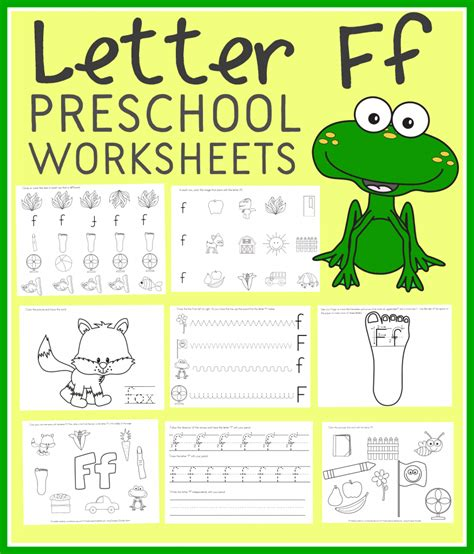 letter  preschool worksheets instant