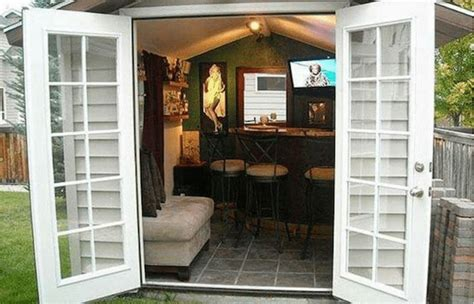 shed tv show forget caves backyard bar sheds are the new trend