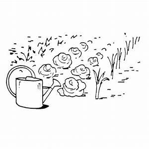 Jardin Dessin Couleur : jardin potager dessin course nature ~ Melissatoandfro.com Idées de Décoration