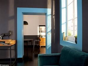 Peinture Encadrement Fenetre Interieur : murs 40 id es pour leur donner du peps elle d coration ~ Premium-room.com Idées de Décoration