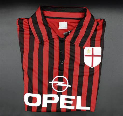This statistic shows which shirt numbers the palyer has already worn in his career. AC Milan 1999-2000 Long-Sleeve Jersey Shirt Maglia ...