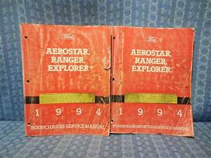1994 Ford Aerostar Ranger Explorer Oem Shop Service