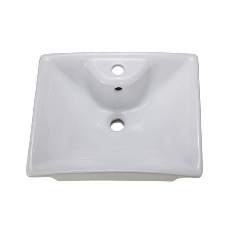 Decolav Sinks Home Depot by Decolav Classically Redefined Vessel Sink In White 1430