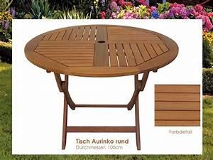 Tisch Klappbar Holz : gartentisch holz aurinko tisch rund 100cm klappbar ~ A.2002-acura-tl-radio.info Haus und Dekorationen
