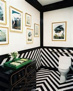 tile flooring ideas for bathroom bold and beautiful black and white stripes in every room