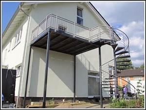 balkon anbauen stahl kosten balkon house und dekor With markise balkon mit my home tapeten