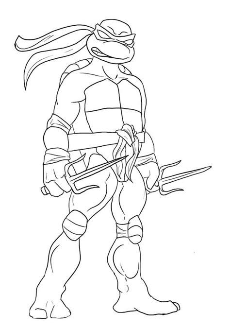 tmnt coloring pages lineart tmnt ninja turtle