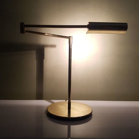 le bureau halogene le liseuse de bureau articulée doré vintage halogène