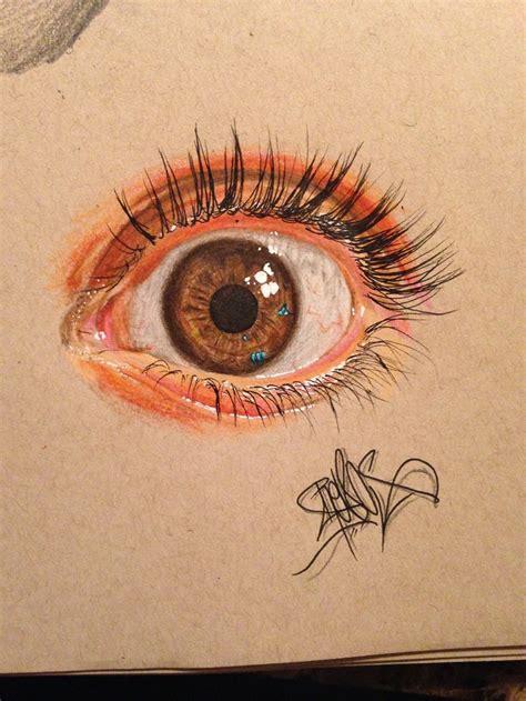 eye eyes realistic drawings jose vergara artist pencils pencil draws colored amazing drawn colors hyper hyperreal drawing using aka scary