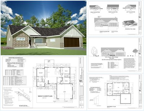great house designs great simple exterior house plans hohodd about