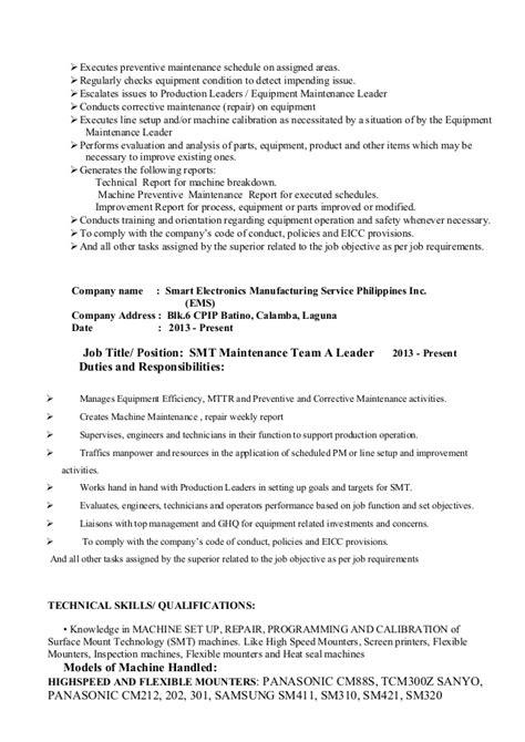 my resume format