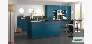 Meuble Bleu Canard : bleu canard en 2018 buanderie pinterest cuisine bleu canard mobalpa et bleu canard ~ Teatrodelosmanantiales.com Idées de Décoration