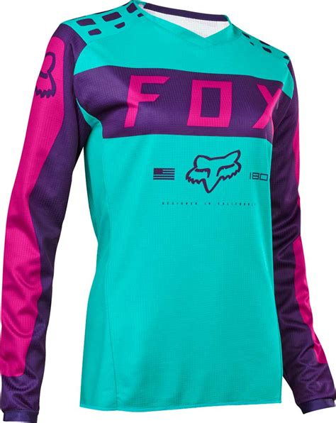 kids motocross jersey 2017 fox racing kids girls 180 jersey mx motocross off