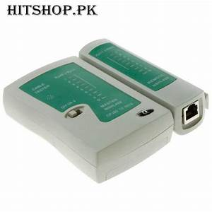 1 Rj45 And Rj11 Network Cable Tester In Pakistan