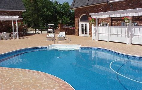 pool deck resurfacing options pool ideas categories whirlpool door refrigerator