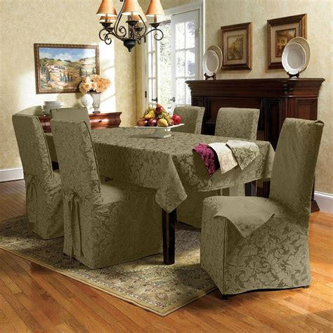 Large Dining Room Chair Slipcovers Dining Room Chair