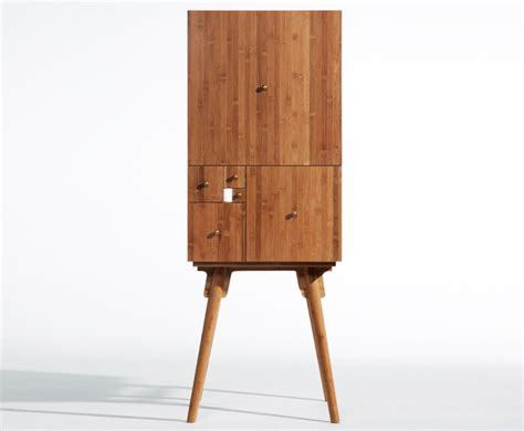 fibonacci furniture utopia s bamboo fibonacci cabinet brings the golden ratio into your home fibonacci cabinet from