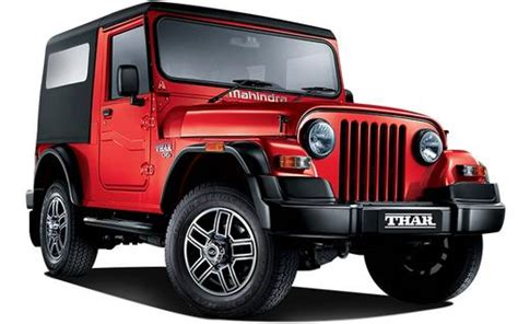 mahindra thar diesel crde  price specs review pics
