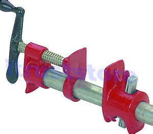 size hd wood glue pipe bar clamp  woodworking