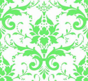 Green Damask Clip Art at Clker com - vector clip art