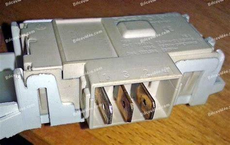 changer securite porte lave linge travaux 201 lectrom 233 nager branchement des connectiques s 233 curit 233 de porte lave linge ariston