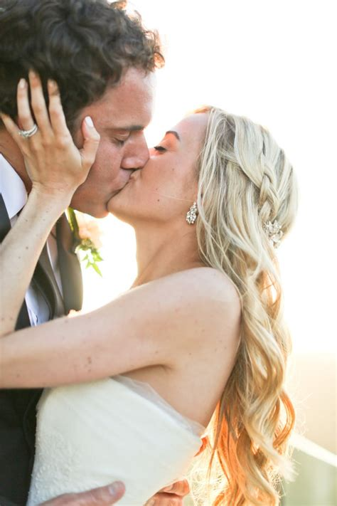 Passionate Kiss 50 Couple Moments To Capture At Your Wedding Popsugar Love And Sex