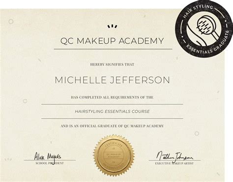 hair styling  qc makeup academy