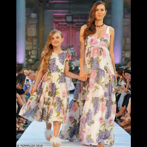 Monnalisa Mommy And Me Spring Summer 2018 Fashion Show