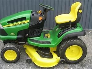 John Deere Rasenmähertraktor : john deere x145 tracteur tondeuse ~ Eleganceandgraceweddings.com Haus und Dekorationen