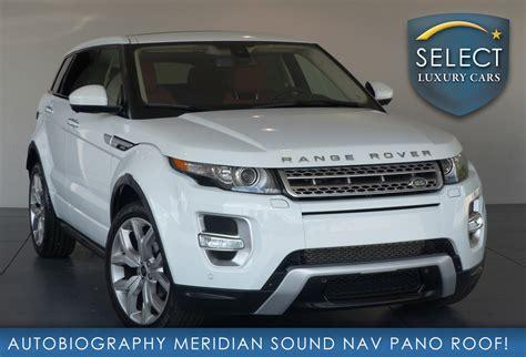 Used 2015 Land Rover Range Rover Evoque Autobiography