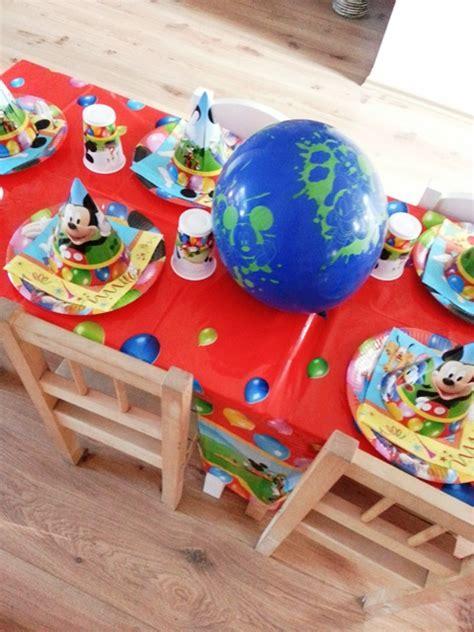 micky maus deko micky freunde feiern mit partyfotos unserer kunden