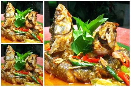 Sajian sedap dengan bahan dasar ikan mas yaitu ikan mas pesmol. Resep Ikan Belanak Acar Kuning Pedas Enak - Area Halal