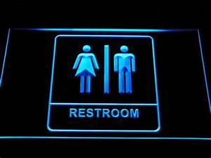 line Buy Wholesale lighted restroom signs from China