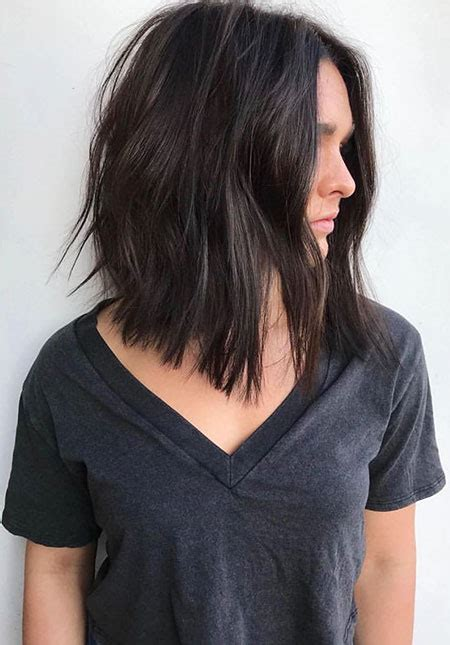 medium length angled bob hairstyles bob hairstyles