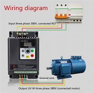 2 2kw 380v 3 Phase Output Vfd Variable Frequency Inverter