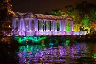 China Glass Bridge at Night