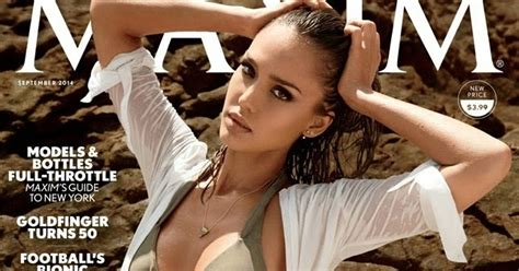 Mdollnyc Jessica Alba For Maxim September 2014