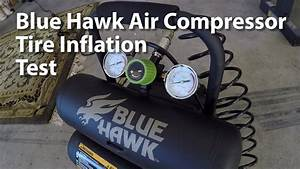 Blue Hawk Air Compressor From Lowes Hardware