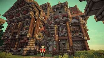 Fireplace Designs Minecraft by Medieval Mansion Minecraft Building Inc