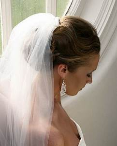 Wedding hairstyles for short hair with veil