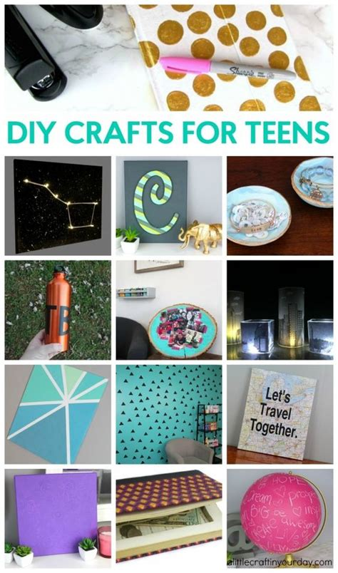 Diy Crafts For Teens  I Love, Love Art And Love It