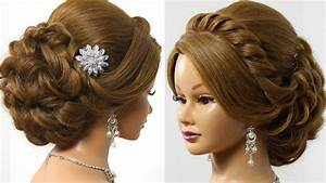 Bridal Wedding Updo Hairstyle For Long Medium Hair With Extensions HairStyles