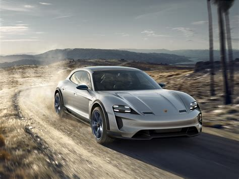 porsche tesla price porsche mission e cross turismo revealed will take on