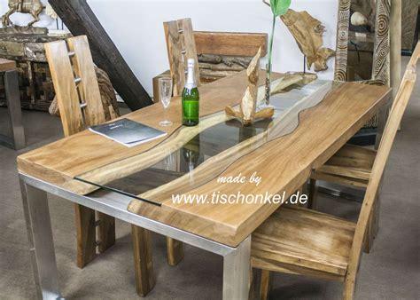 Esstisch Aus Holz by Holz Esstisch Akazie Massiv Metall 200x100cm Forafrica
