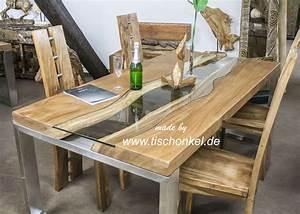 Pendelleuchte Esstisch Holz : holz esstisch akazie massiv metall 200x100cm com forafrica ~ Watch28wear.com Haus und Dekorationen