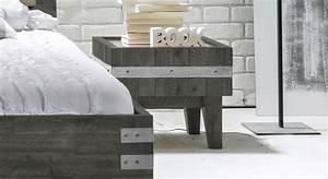 Bett Industrial Design : nachttisch im industrial design kaufen paraiso ~ Sanjose-hotels-ca.com Haus und Dekorationen