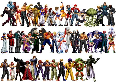 Kof Anthology All Characters Pack