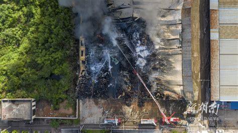 长沙成功处置一电器仓库火灾事故 - 资讯 - 新湖南